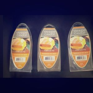 Yankee Candle  Pumpkin Pie Wax Melt (Set of 3)